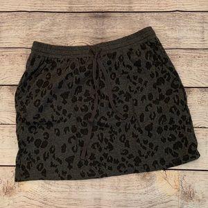 Knit skirt Loft size small